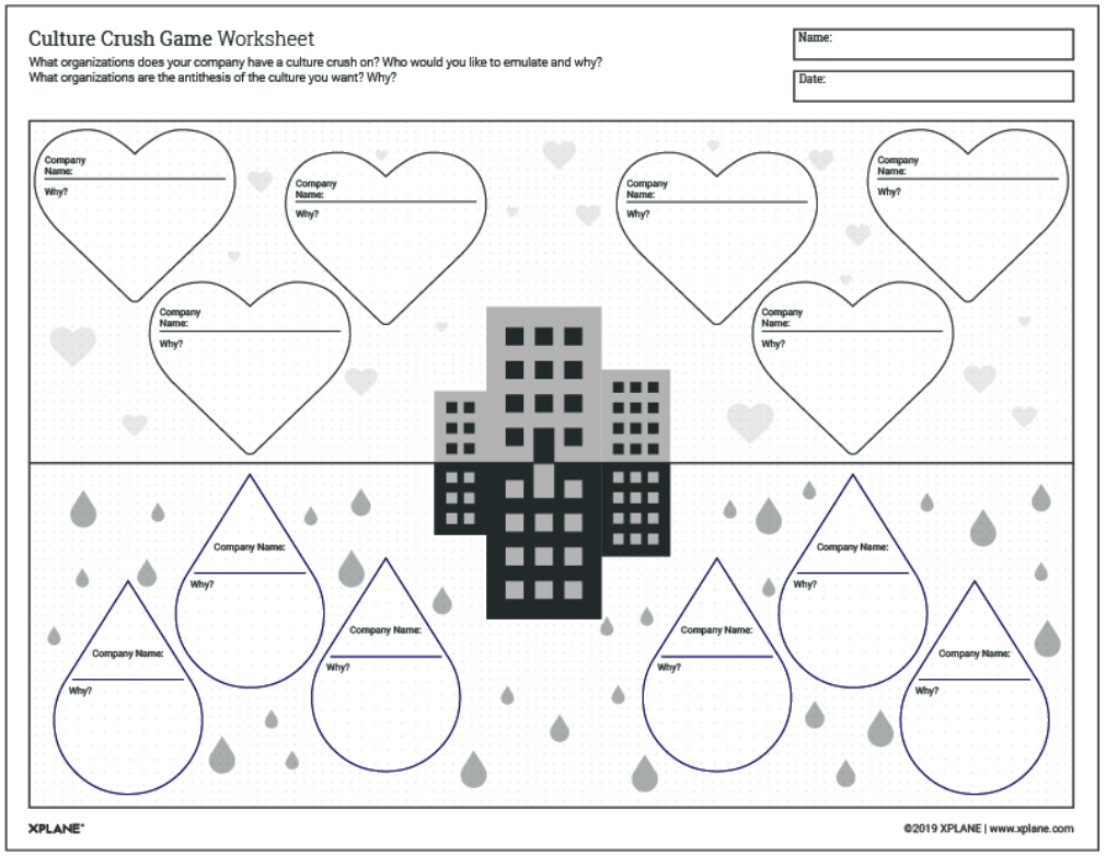 Culture Crush Game Worksheet