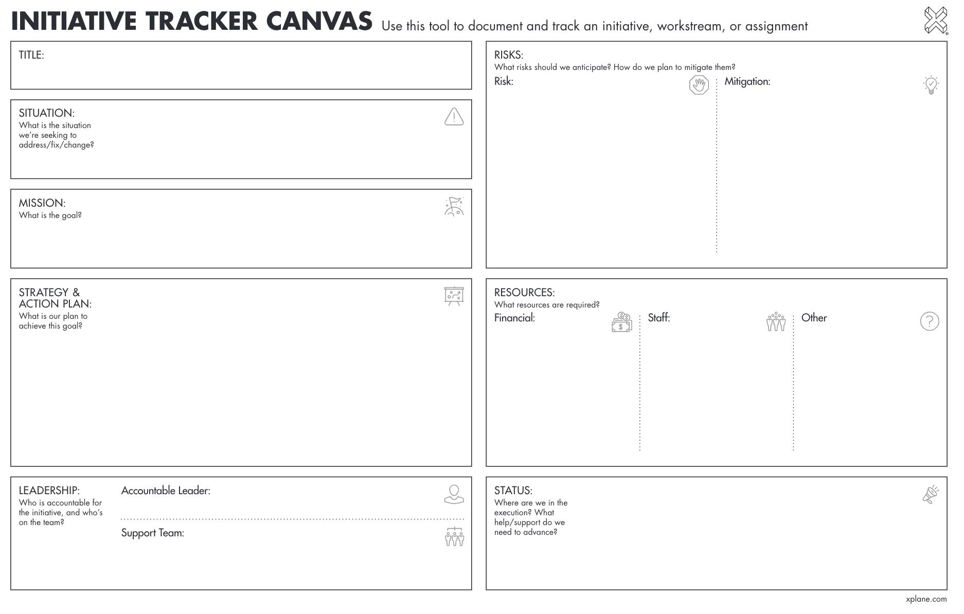 Initiative Tracker Canvas