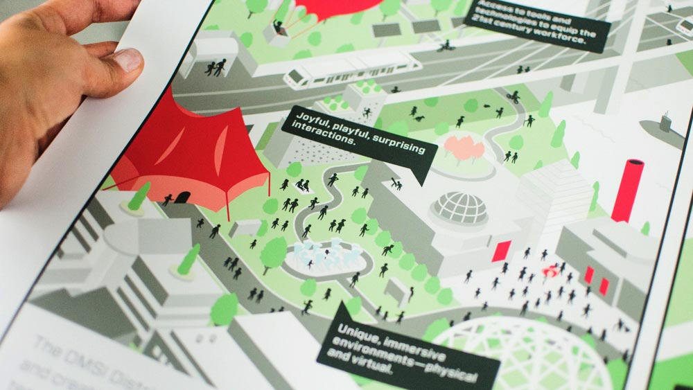 Image of OMSI Vision Map