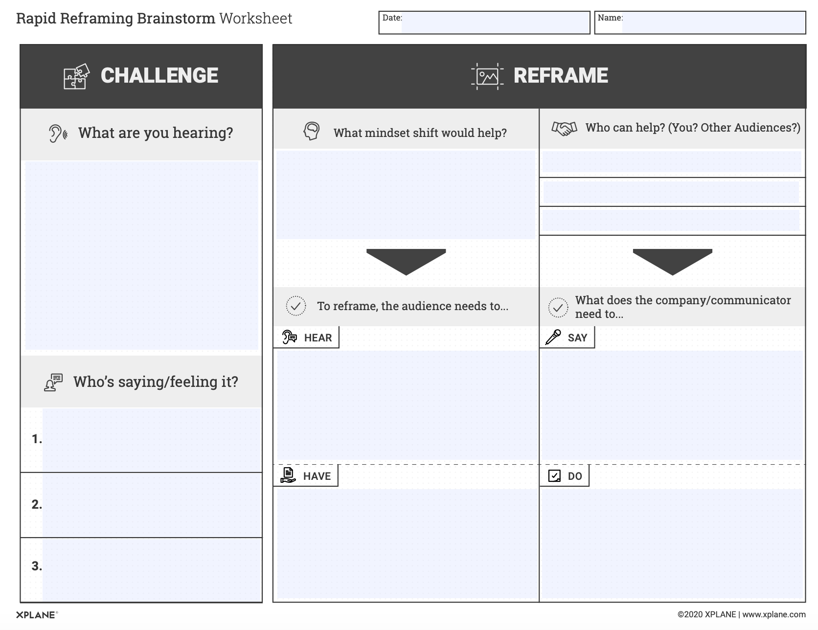 Rapid Reframing Brainstorm Worksheet_Screenshot