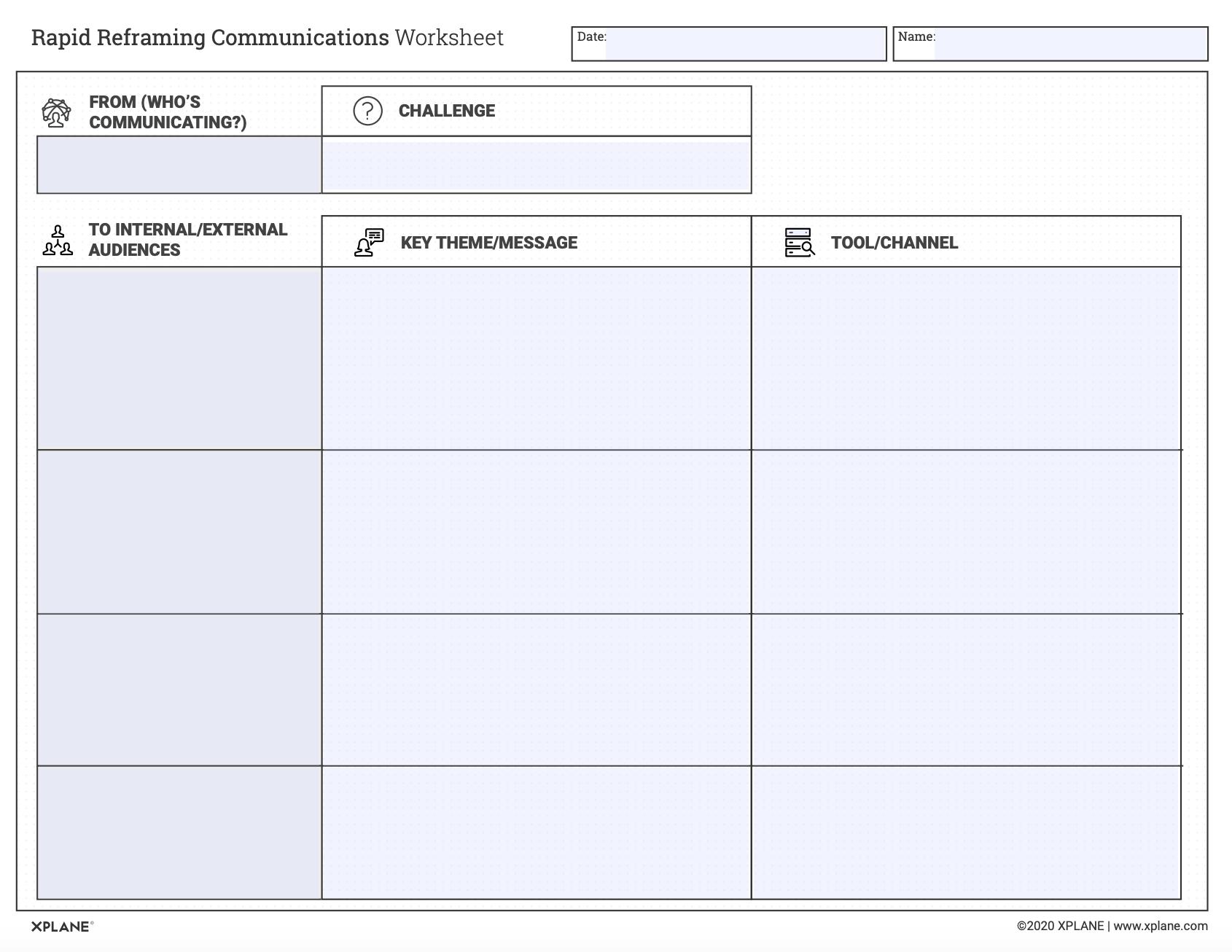 Rapid Reframing Communications Worksheet_Screenshot