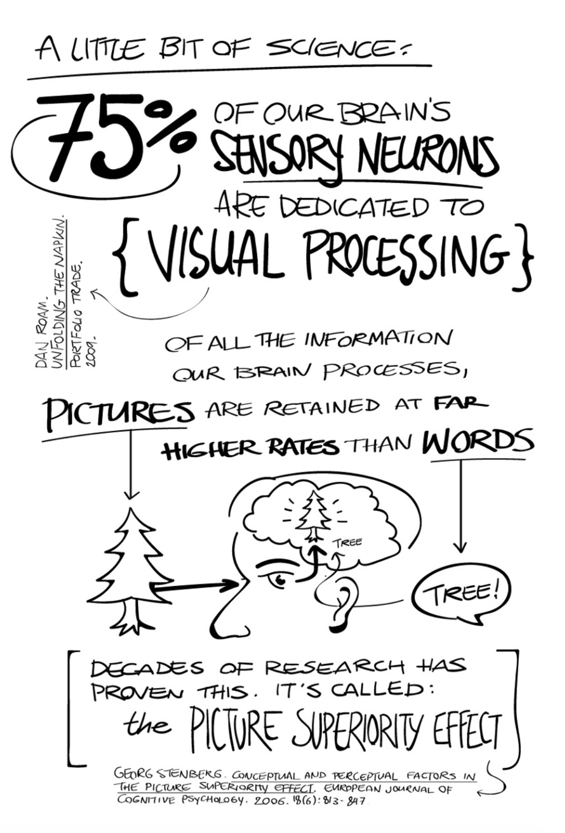 Science of visual thinking