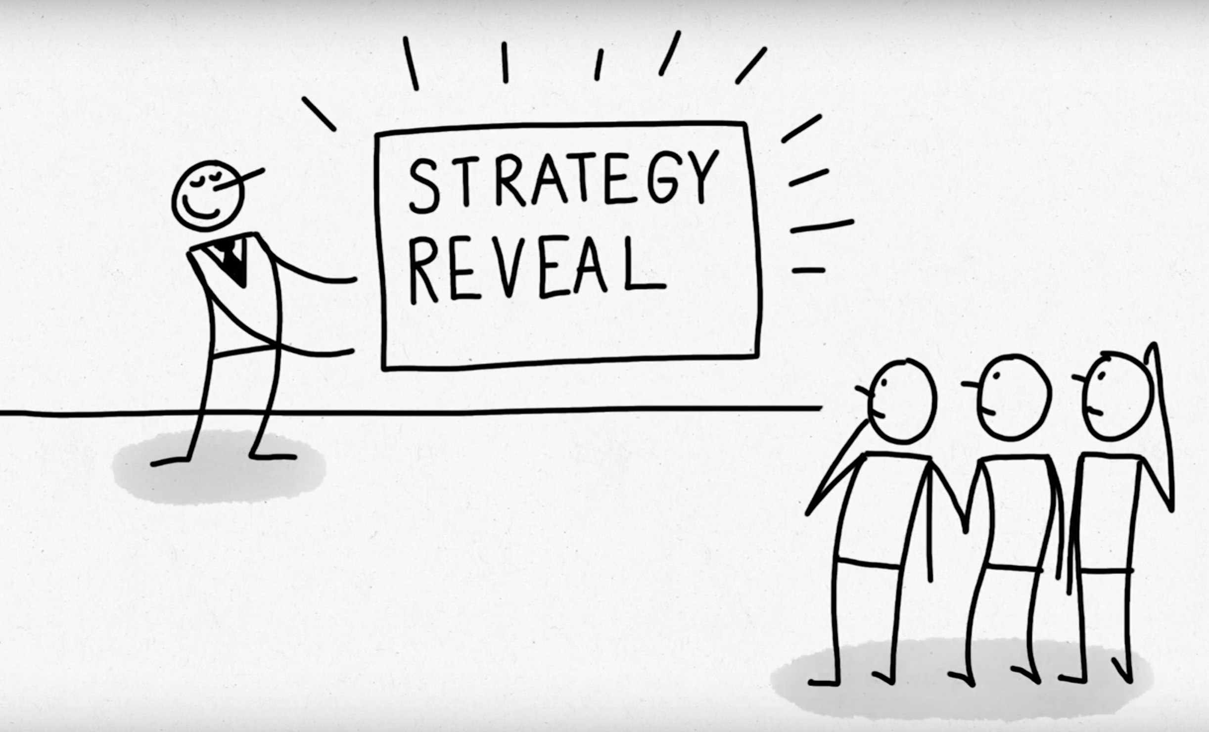 Strategy Reveal Using PowerPoint