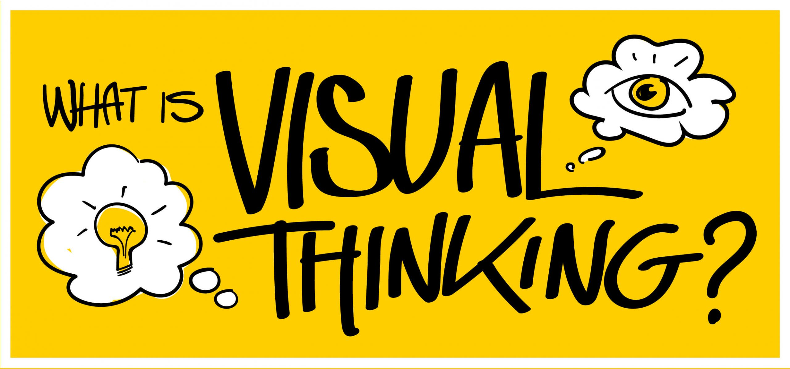What is visual thinking?