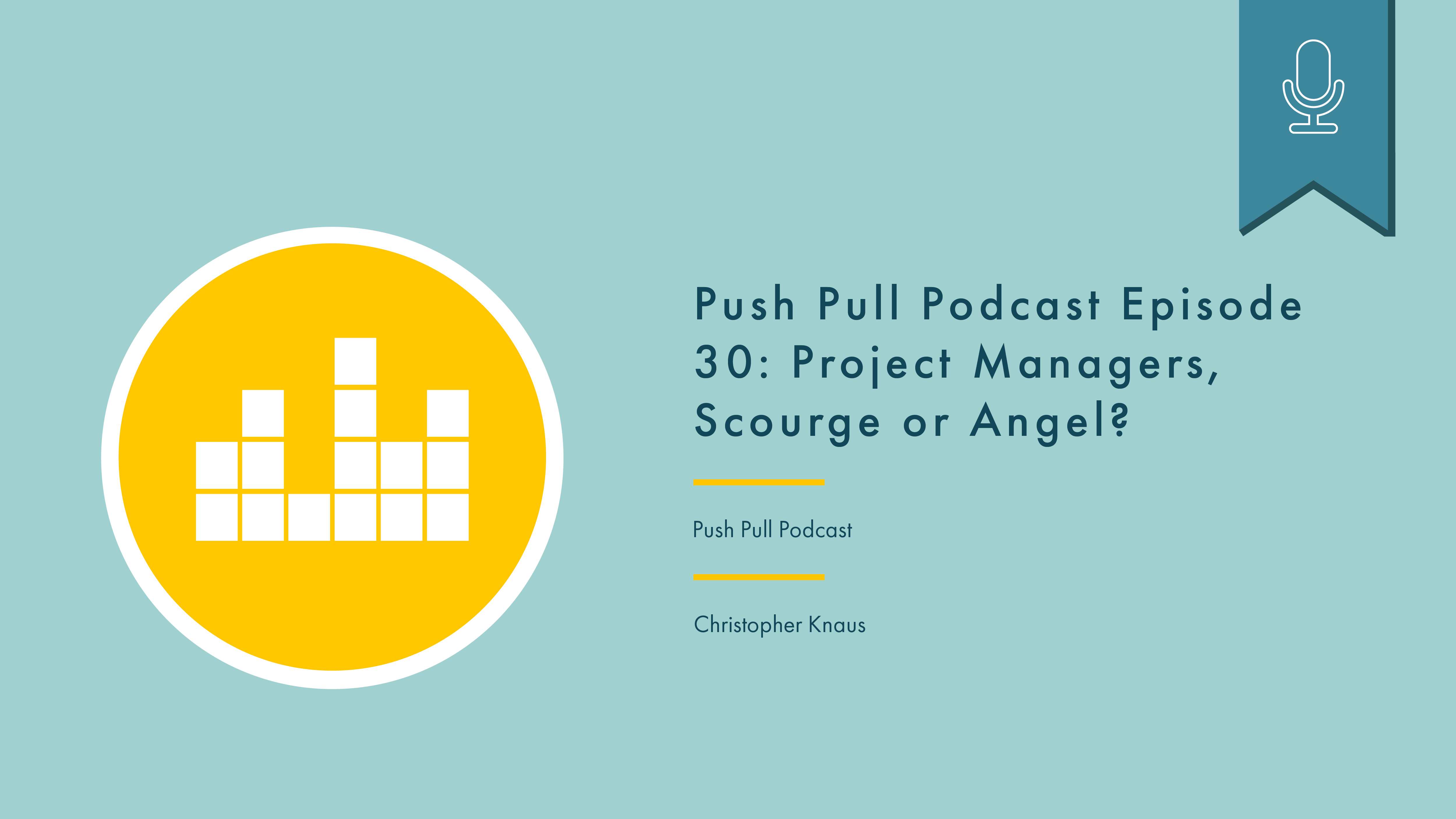 Header image showing podcast episode title, podcast name, and interviewee